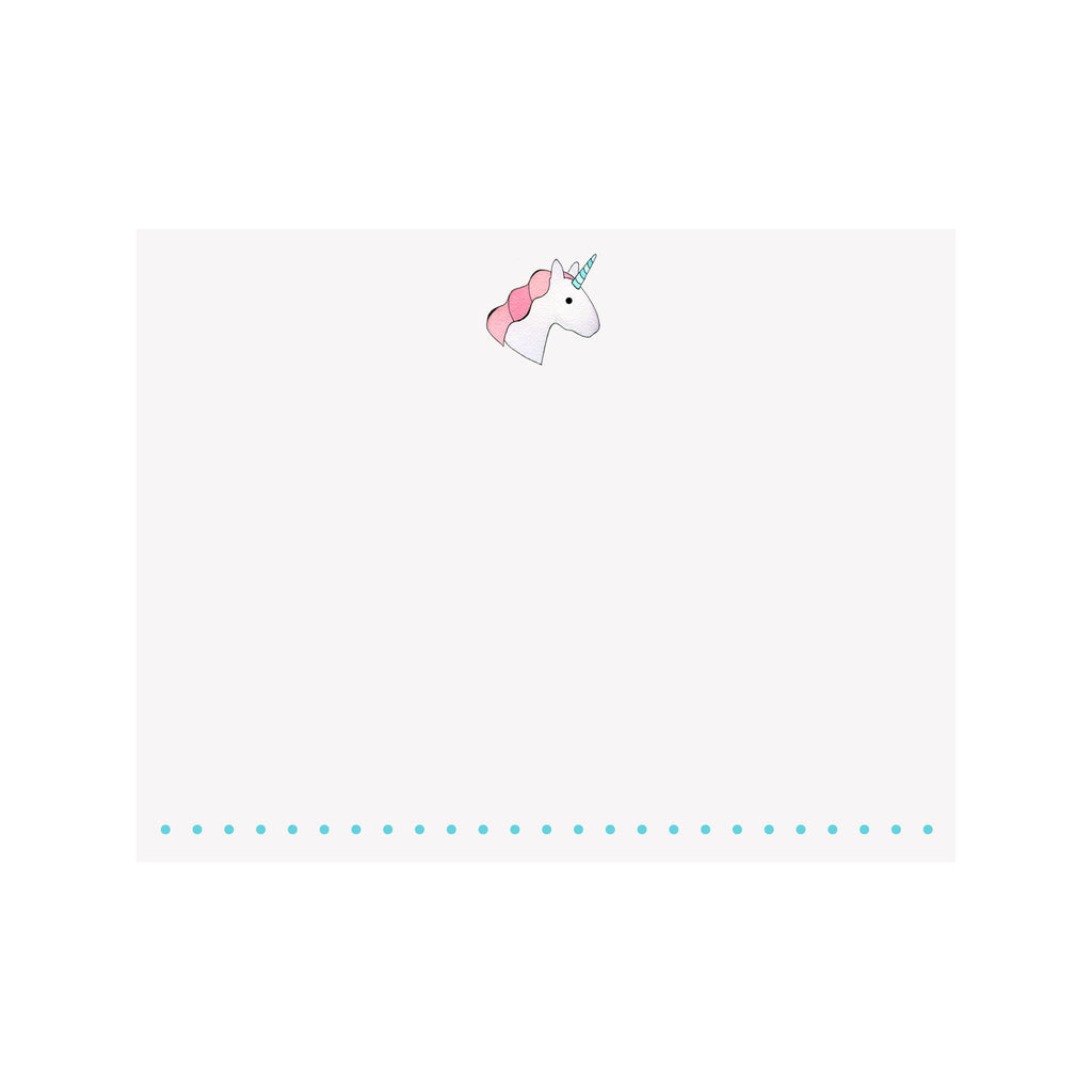 Unicorn Note Card