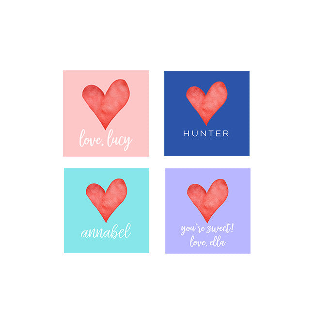 Heart Gift Tags & Stickers