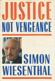 B180 - Justice Not Vengeance by Simon Wiesenthal