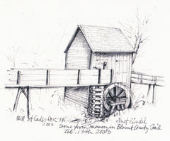 MNEPRT116 - Mill at Cades Cove, Tennessee