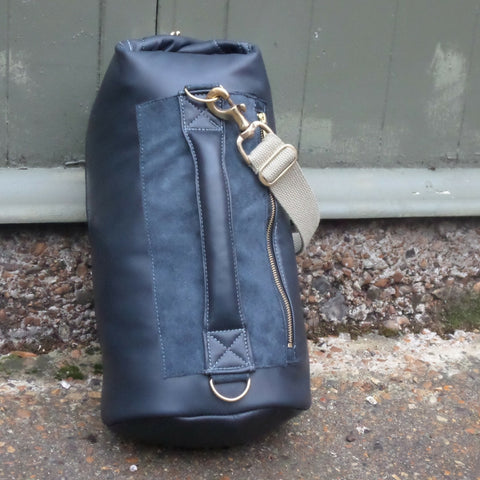 Leather Tombag Small Jet Black