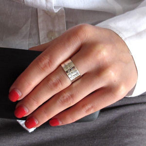 Personalisierter Initiale-Ring