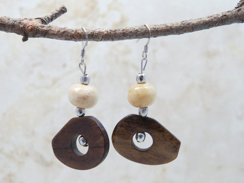 Bollo Brown Earrings