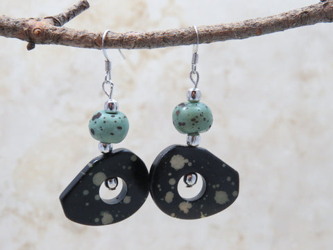 Bollo Speckled Earrings