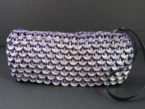Loredo Purple Pop Tab Clutch