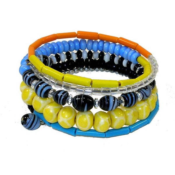 Dhoma Beaded Bangle - Multicolor