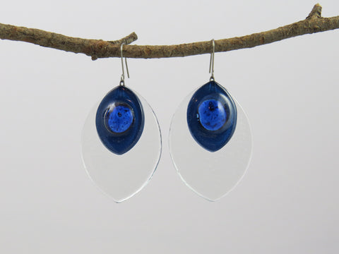 Corrient Glass Earrings