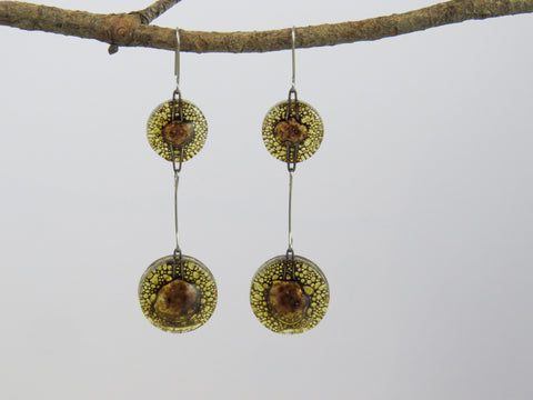 Rioja Glass Earrings