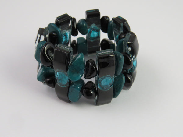 Argine Glass Beaded Cuff