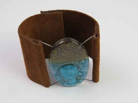 Bariloche Glass Leather Cuff