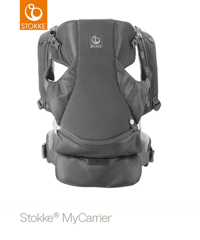 STOKKE® My Carrier Grey Mesh Front and Back