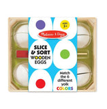 Slice & Sort Wooden Eggs