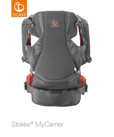 STOKKE® My Carrier Coral Mesh Front and Back