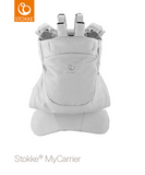 STOKKE® My Carrier Grey Front and Back