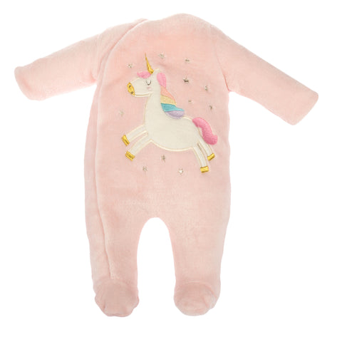 PINK UNICORN FOOTIE