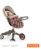 Cobija Stokke® Purple Green Navy Beige