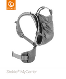 STOKKE® My Carrier Black Mesh Front and Back
