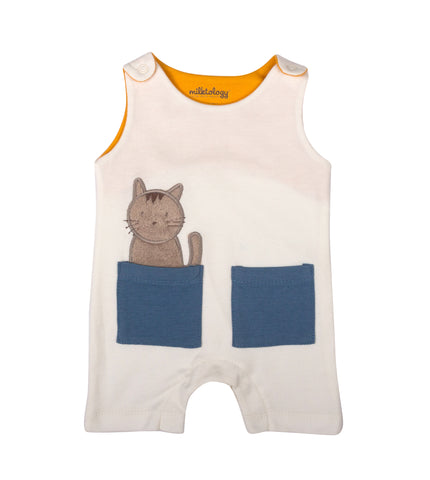 CAT IN THE BAG ROMPER