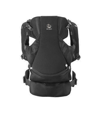 My carrier Front Stokke® Black Mesh