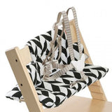Stokke® Tripp Trapp Cushion Black Chevron