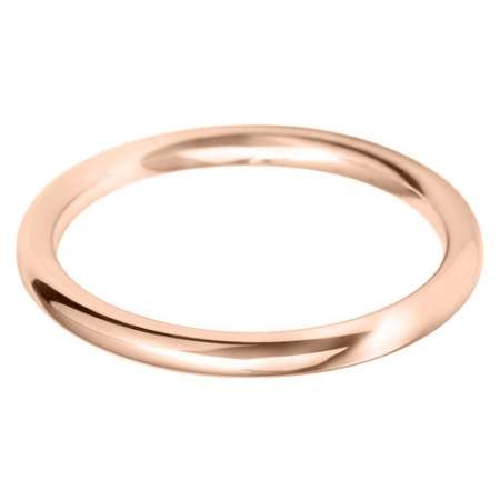9ct Rose Gold Ladies BC Wedding Ring
