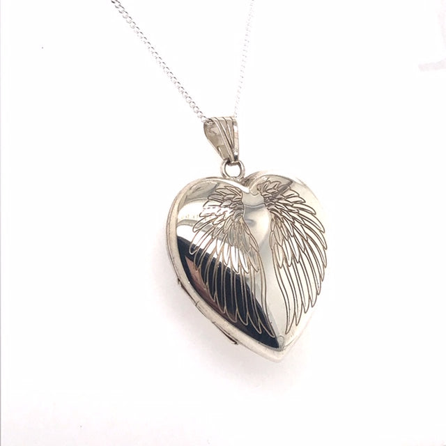 Winged Locket