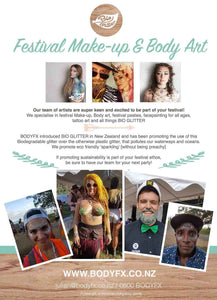 Festival Makeup and Body Art