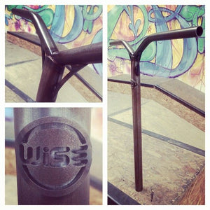 RAW x WISE Oversized Bar Polished - Stuntstep