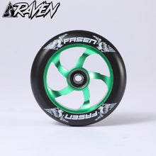 Afbeelding in Gallery-weergave laden, Fasen Raven 110 Wheel Green/ Black - Stuntstep
