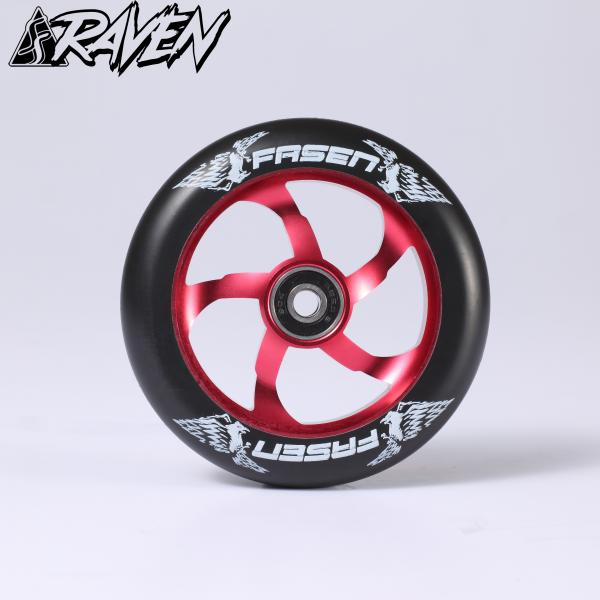 Fasen Raven 110 Wheel Red / Black - Stuntstep