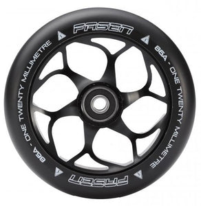 Fasen 120 mm wheel Black