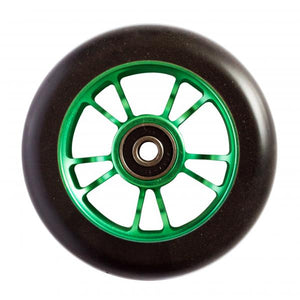 Blunt 10 Spokes 100 mm Wheel Green - Stuntstep