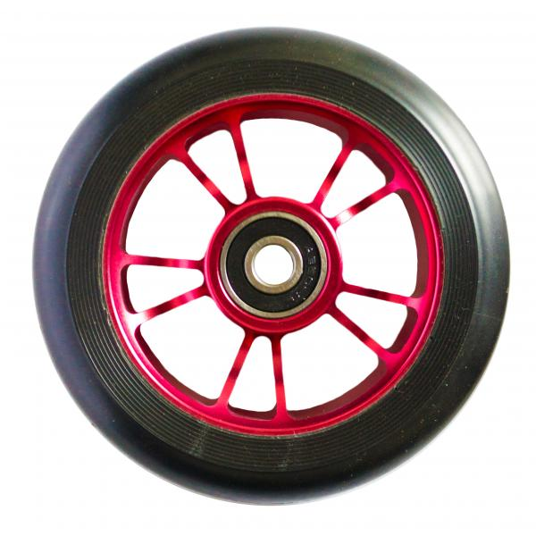 Blunt 10 Spokes 100 mm Wheel Red - Stuntstep