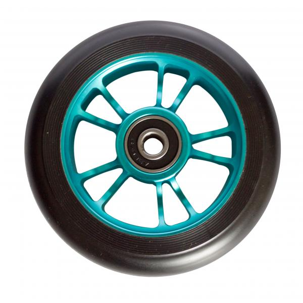 Blunt 10 Spokes 100 mm Wheel Teal - Stuntstep