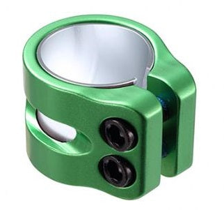 Blunt Twin Slit Clamp Green
