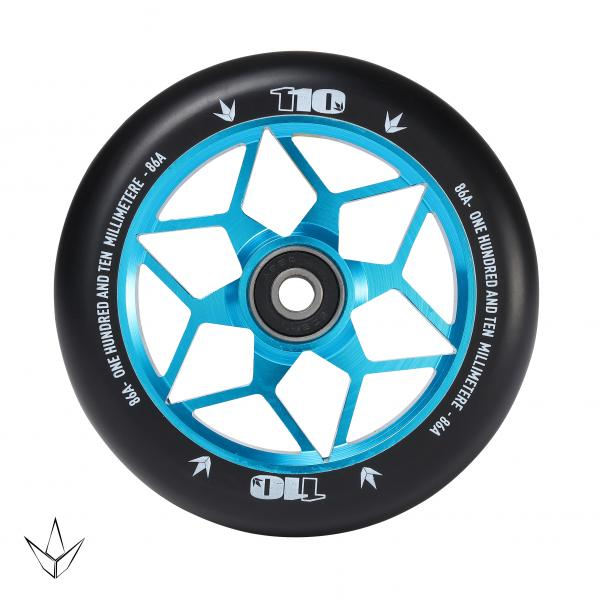 Blunt Diamond 110 Wheel Teal - Stuntstep