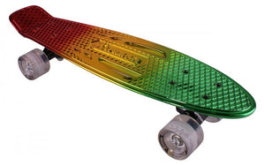 Karnage Chrome Retro Cruiser Mixed Red / Yellow / Green - Stuntstep