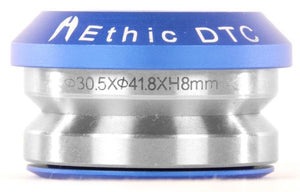 Ethic DTC Integrated Basic Headset Blue - Stuntstep