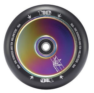 Blunt Hollow 110 Wheel Oil Slick - Stuntstep