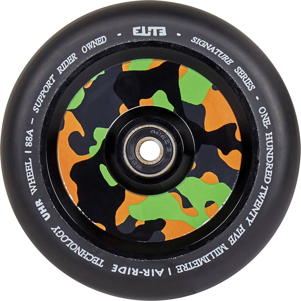 Elite Air Ride Camo Wheel 110 Black - Stuntstep