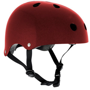 SFR Essentials Metallic Red Helmet S/M - Stuntstep
