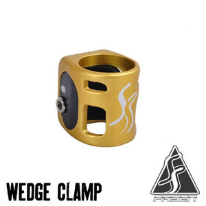 Fasen double clamp Gold/Black - Stuntstep