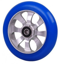 Afbeelding in Gallery-weergave laden, FASEN 8 spokes Raw/Blue incl. ABEC 9 bearings - Stuntstep