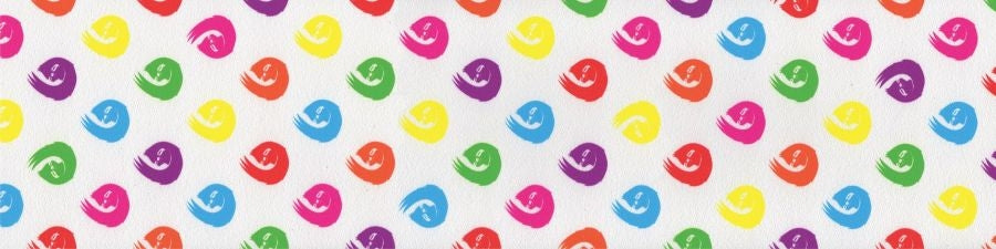 Hella Sloth Dot Griptape Rainbow Sloths On White