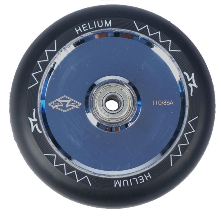 AO Helium Wheel 110 Silver Polished