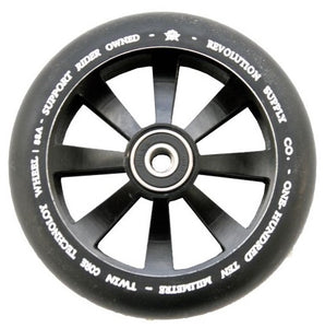Revolution Twin Core Wheel 110 Black - Stuntstep