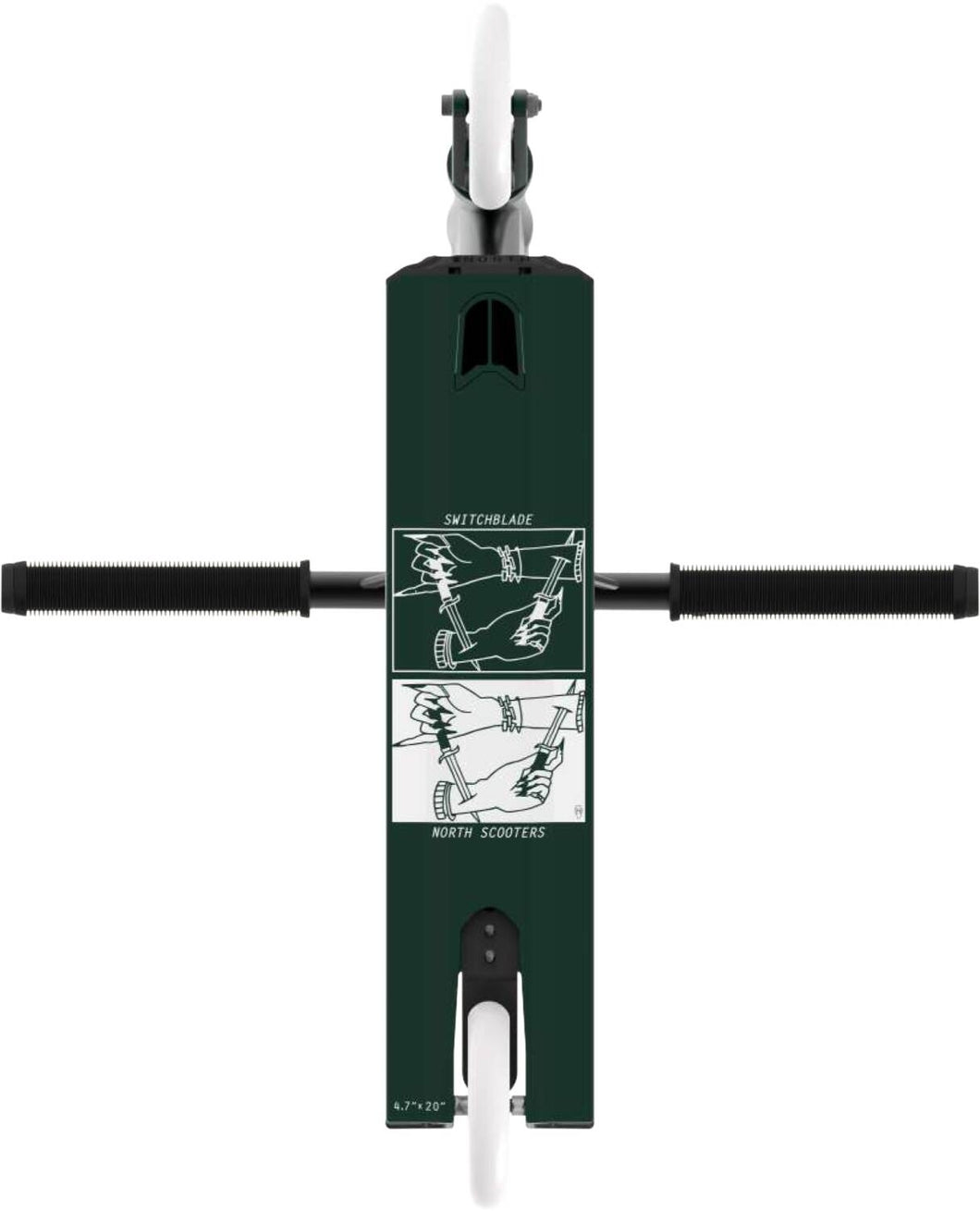 North Switchblade Scooter Forest Black