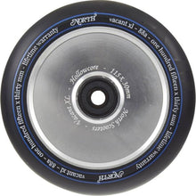Afbeelding in Gallery-weergave laden, North Vacant XL V2 115 Wheel Silver - Stuntstep
