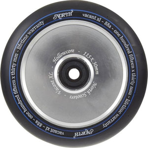 North Vacant XL V2 115 Wheel Silver - Stuntstep