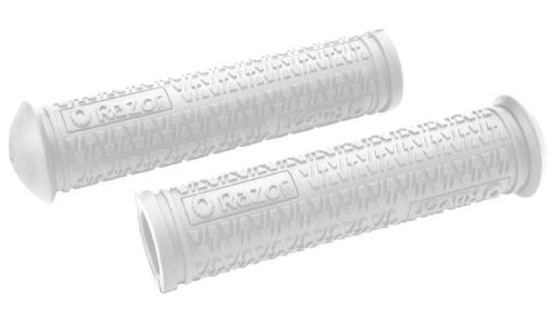 Razor Soft Rubber Grips White